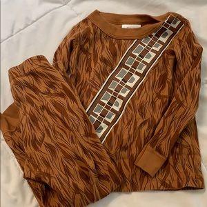 Hanna Andersson Chewbacca Star Wars Long John 3 90